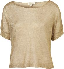 Topshop Treasury Top By Goldie - Lyst