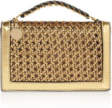 Stella McCartney Pembridge Faux Leather Clutch - Lyst