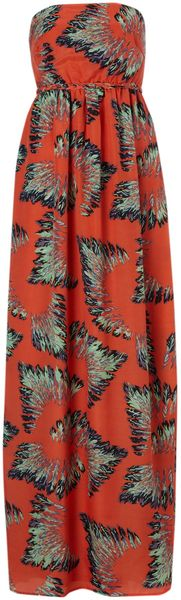 Madam Rage Plaited Strapless Maxi Dress - Lyst