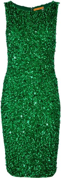 Alice + Olivia Beaded Dress - Lyst