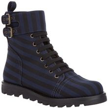 Marc By Marc Jacobs Striped Combat Boot - Lyst