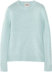 Acne Clementine Boiled Wool Sweater - Lyst