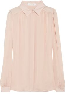 Chloé Lightweight Sateen Shirt - Lyst