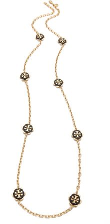 Tory Burch Walter Rosary Necklace - Lyst