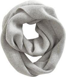 Barneys New York Doubleknit Eternity Scarf - Lyst