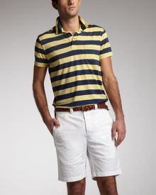 Polo Ralph Lauren Slim Gi Shorts Baxter Cream - Lyst