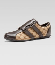 Gucci Dragon Leathercanvas Sneaker - Lyst