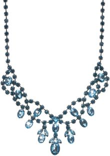 Asos Premium Jewelled Bib Necklace - Lyst