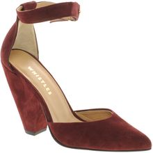 Whistles Mai Tai Ankle Strap Court Shoes - Lyst