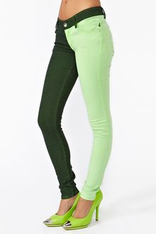 Nasty Gal Bright Side Skinny Jeans - Lyst