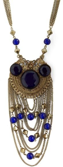 ModCloth Avantgarde Duty Necklace - Lyst