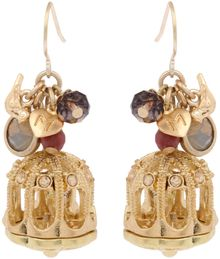 Martine Wester Boudoir Bird Cage Earrings - Lyst