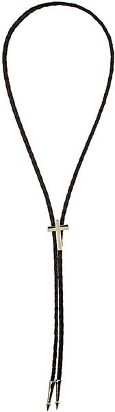 Topshop Cross Bolo Necklace - Lyst