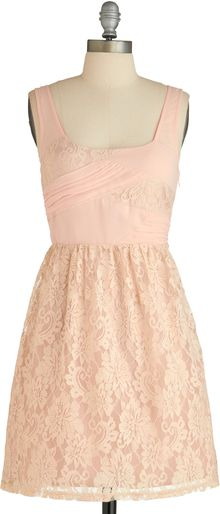 ModCloth Sugared Rose Dress - Lyst