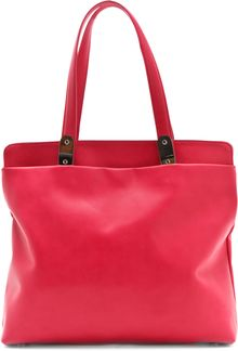 Maison Martin Margiela Leather Tote Bag - Lyst