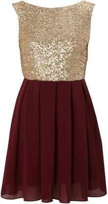 Tfnc Sequin Sarah High Low Dress - Lyst