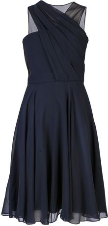 3.1 Phillip Lim Drape Dress - Lyst