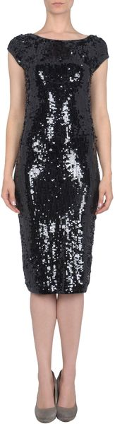 Donna Karan New York 34 Length Dress - Lyst