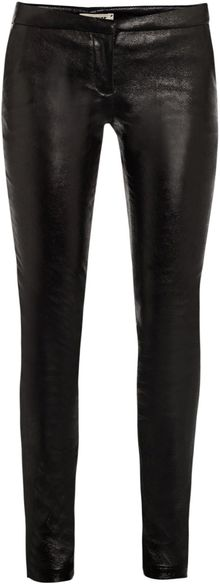 L'Agence Leather Leggings - Lyst