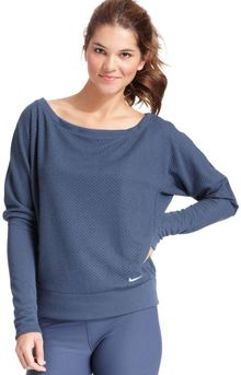 Nike Downtown Epic Drifit Oversized Sweatshirt - Lyst