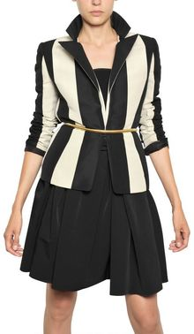 Lanvin Cotton Striped Radzimir Jacket - Lyst