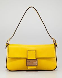 Fendi Leather Baguette Bag Chantilly - Lyst