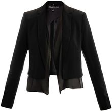 Elizabeth And James Cropped Blazer - Lyst