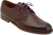 Bottega Veneta Contrast Laces Oxford - Lyst