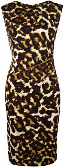 Episode Leopard Print Dress - Lyst