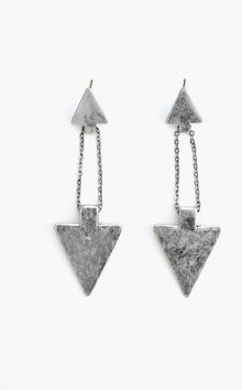 Nasty Gal Double Arrow Earrings - Lyst