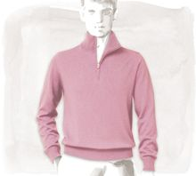 Hermes Zip-neck Sweater Knitwear - Lyst