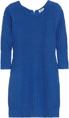 Acne Shore Oversized Chunkyknit Cotton Sweater - Lyst