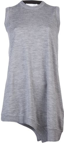 Alexander Wang Drapey Sleeveless Dress - Lyst