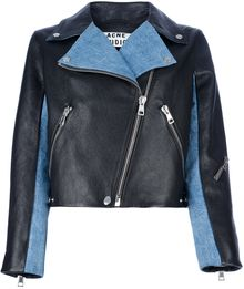 Acne Rita Denim Jacket - Lyst