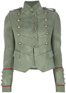 Joseph Double Breasted Military Blazer - Lyst
