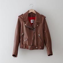 Acne Mape Leather Moto Jacket - Lyst