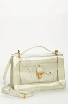 Marc By Marc Jacobs Clearly Top Handle Satchel - Lyst