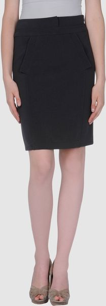 Le Full Knee Length Skirts - Lyst
