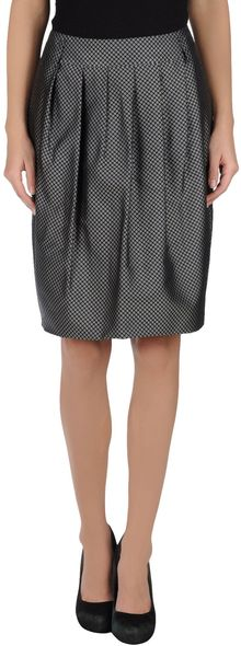 Pauw Knee Length Skirt - Lyst