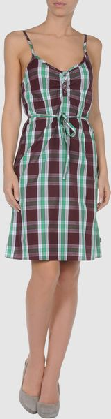 Wesc Short Dress - Lyst