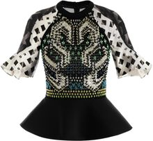 Peter Pilotto Carolina Embellished Top - Lyst