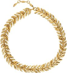 Aurelie Bidermann Gold Lunada Bay Leaf Collar - Lyst
