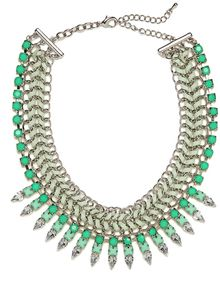 Baublebar Mint Gem Braid Collar - Lyst
