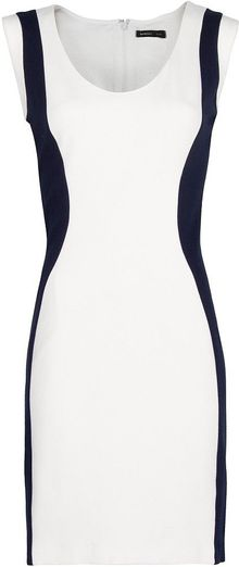 Mango Twotone Bodycon Dress - Lyst