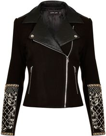 Topshop Pearl Embellished Jacket By Sister Jane - Lyst