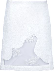 Simone Rocha Sheer Detail Skirt - Lyst