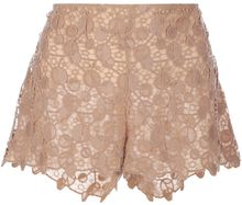 Versace Patterned Lace Shorts - Lyst