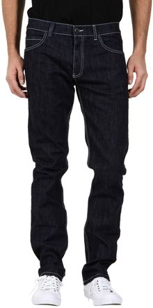 Calvin Klein Denim Pants - Lyst