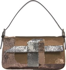 Fendi 3deffect Sequined Baguette Bag - Lyst
