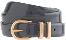 J.Crew Paintedenamel Patent Leather Belt - Lyst